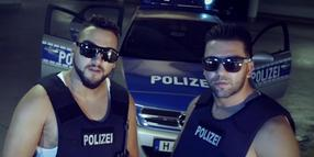 "Das Wolfsburger Rap-Duo Aseef & Bestie im Video ""Amo Police""."