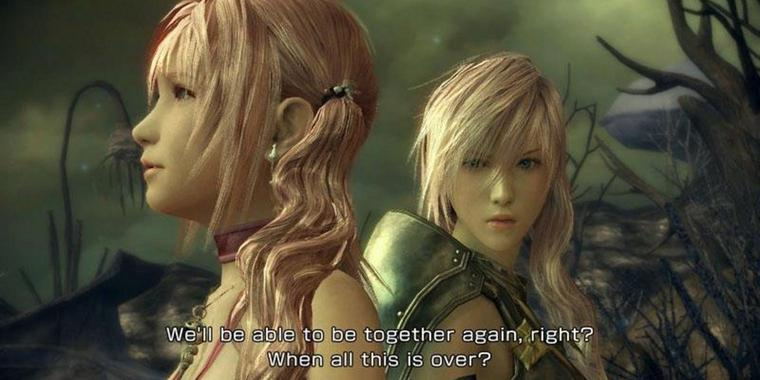 "Screenshot aus ""Final Fantasy XIII-2"""
