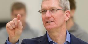 Foto: Tim Cook, der Chef des Computerherstellers Apple.