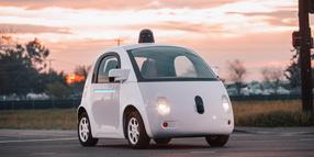 "Foto: Das ""Self-driving vehicle"" von Google."