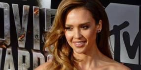 Foto: Schauspielerin Jessica Alba bei den MTV Movie Awards 2014 in Los Angeles, USA.