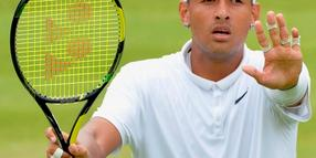 Bad Guy auf dem Platz: Tennisprofi Nick Kyrgios.