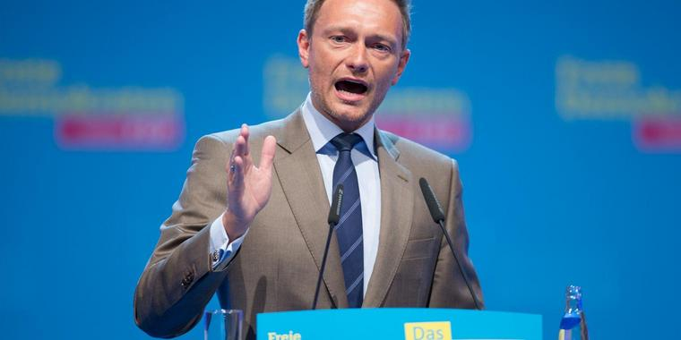 Foto: FDP-Chef Christian Lindner.