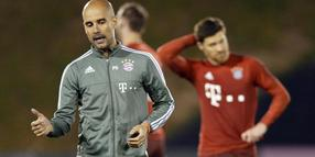 FC Bayerns Trainer Pep Guardiola.