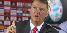 Trainer Louis van Gaal