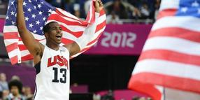 Chris Paul jubelt: Gold für die USA.