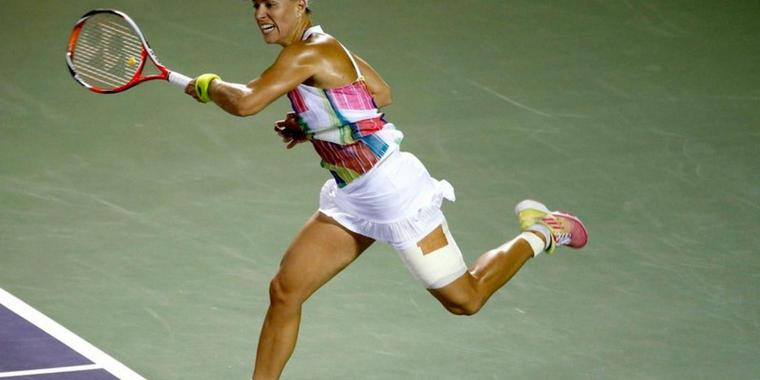 Angelique Kerber in Miami.