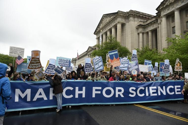 "Der ""March for Science"""