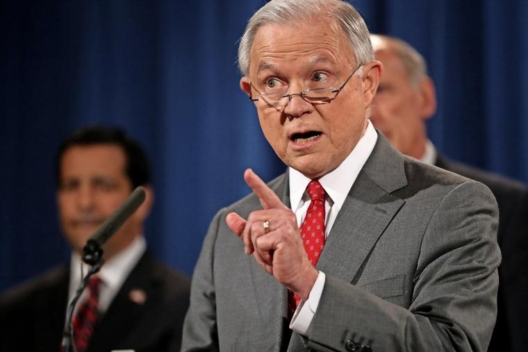 US-Justizminister Jeff Sessions