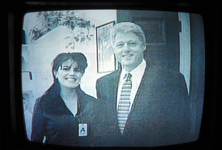 Bill Clinton und Monica Lewinsky.