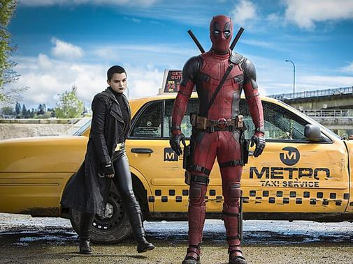 "Ryan Reynold ist ""Deadpool"", der Anti-Held aus dem Marvel-­Comic-Universum. Foto: 20th Century Fox"