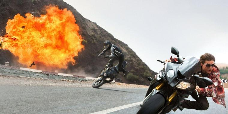 "Tom Cruise als Top-Agent Ethan Hunt in ""Mission: Impossible – Rogue Nation"". Foto: Paramount"