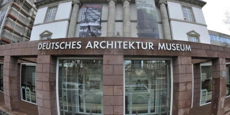 Das Deutsche Architekturmuseum in Frankfurt/Main.