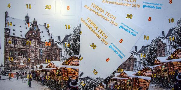 Der Terratech-Adventskalender. Foto: Thorsten Richter