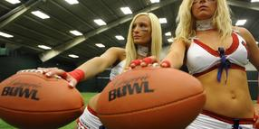 Lingerie Football League New York Erotik Spitzenhöschen