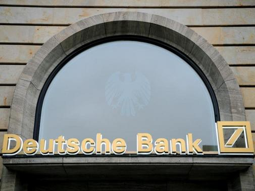 Deutsche Bank Filiale in Frankfurt am Main.
