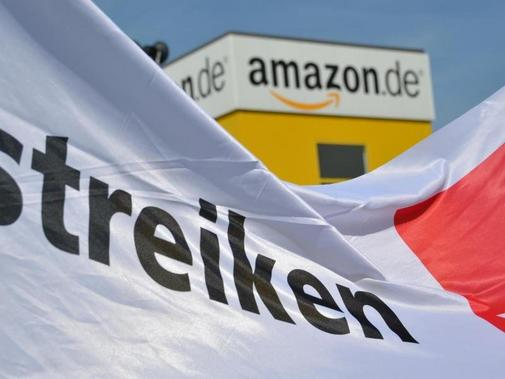 Amazon-Logistik-Center in Bad Hersfeld.