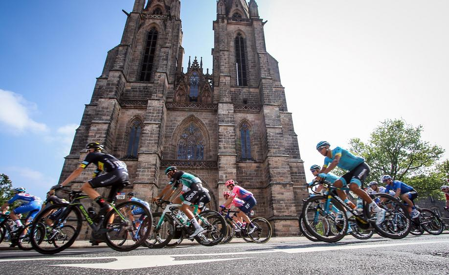 Deutschlandtour in Marburg. Foto: Thorsten Richter (thr)
