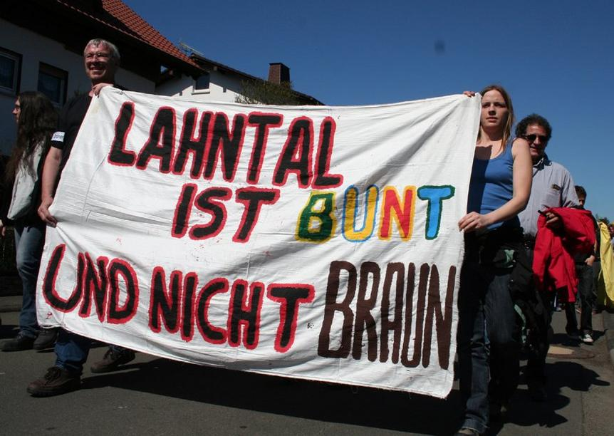 Demo in Lahntal