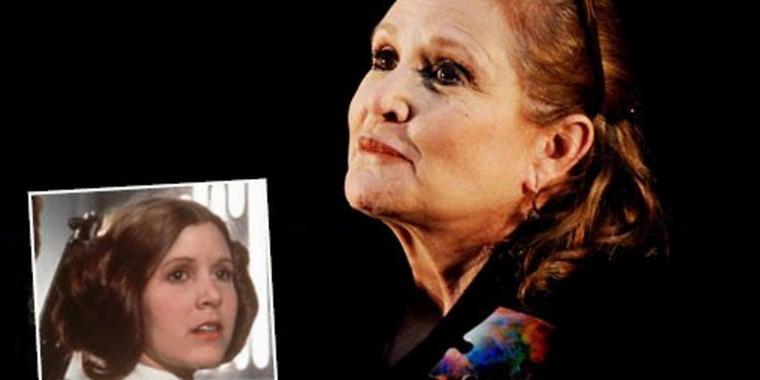"In ""Star Wars"" spielte Carrie Fisher Prinzessin Leia."