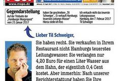 "Titelseite der ""Hamburger Morgenpost"" vom 19. April."