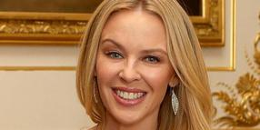 Kylie Minogue am 4. April auf Windsor Castle.