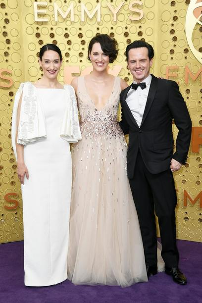 Sian Clifford, Phoebe Waller-Bridge und Andrew Scott