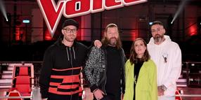 "Mark Forster, Rea Garvey, Alice Merton und Sido (von links) sind die Coaches der neunten Staffel ""The Voice of Germany""."