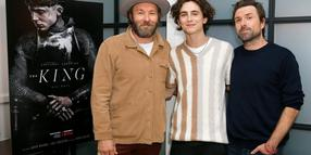 WEST HOLLYWOOD, CALIFORNIA – OCTOBER 22: Joel Edgerton, Timothee Chalamet and David Michod attend Netflix Presents 'The King' Tastemaker at The London Hotel on October 22, 2019 in West Hollywood, California. (Photo by Rachel Murray/Getty Images for Netflix)