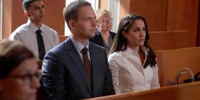 "Patrick J. Adams und Meghan Markle in ""Suits""."