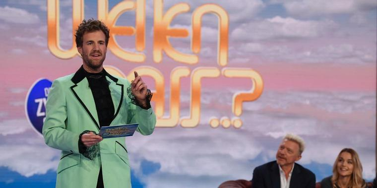 Luke Mockridge gibt den Thomas Gottschalk.
