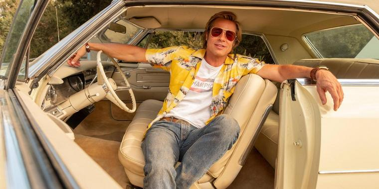 "Brad Pitt im Film ""Once Upon a Time … in Hollywood""."