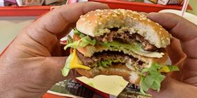 """Big Vegan"" statt ""Big Mac""."
