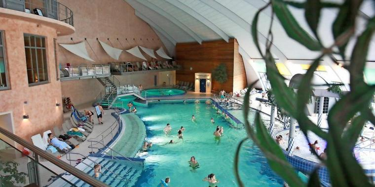 Die Steintherme in Bad Belzig.