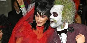 Auch Supermodel Bella Hadid und der Sänger The Weeknd feierten bei Heidi Klums 19. Halloween-Party in New York.