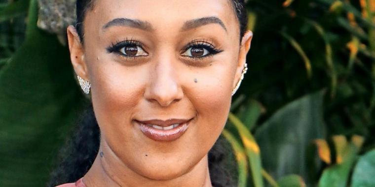 In Trauer: Tamera Mowry-Housley.