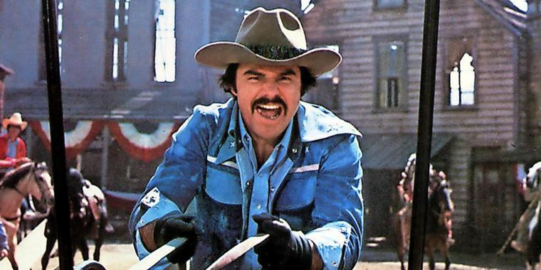 "Burt Reynolds in ""Hooper""."