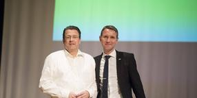 Stephan Brandner (links) und Björn Höcke.