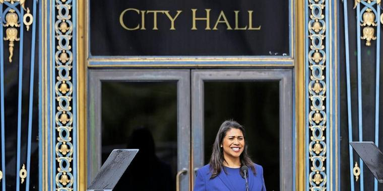 London Breed, San Franciscos neues Stadtoberhaupt.