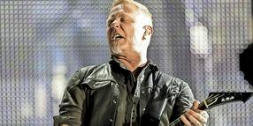 Metallica-Sänger James Hetfield.