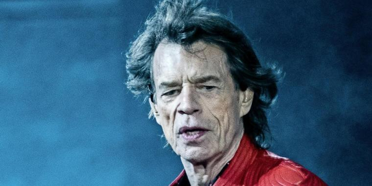 Rolling Stones-Frontmann Mick Jagger.