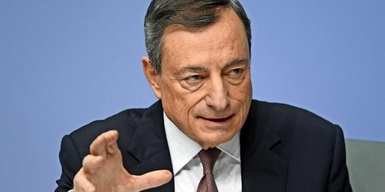 EZB-Chef Mario Draghi.