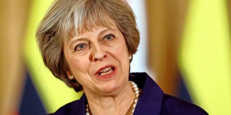 Herbe Schlappe: Englands Premierministerin Theresa May.AFP