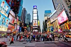 Der Times Square in New York.