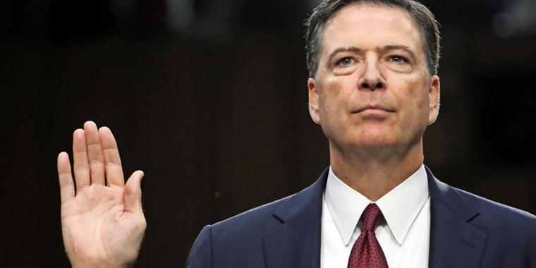 Der entlassene FBI-Chef James Comey